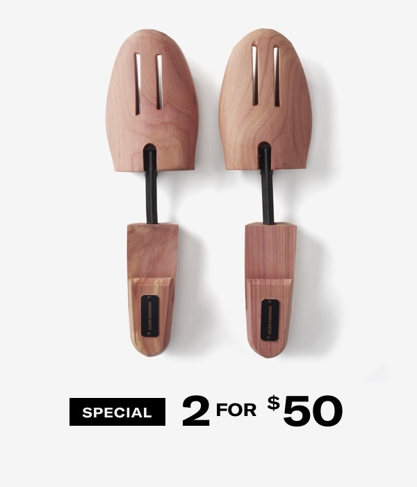 Shoe Trees 2 for $50