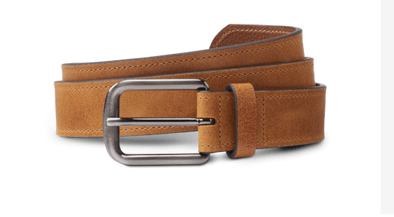 Allen Edmonds - Atlantic Street Men's Tan Suede Belt