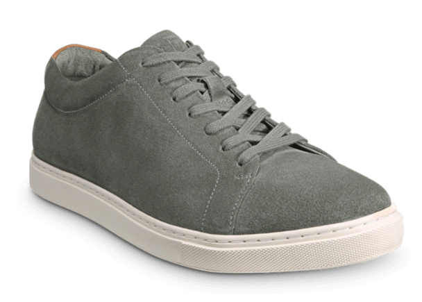 Allen Edmonds- Canal Court Sage Suede Dress Sneaker