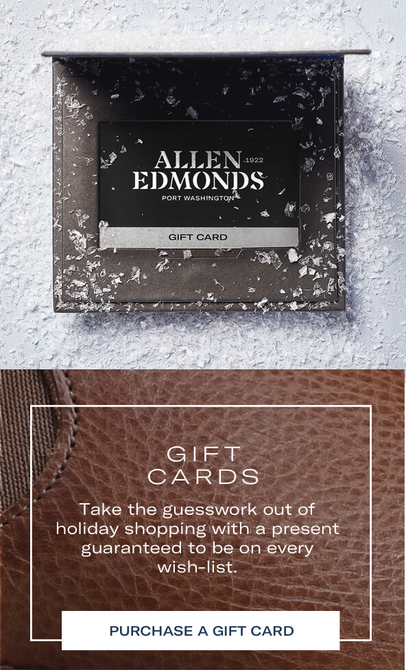 Gift cards. Take the guesswork out of holiday shopping with a present guaranteed to be on every wish-list. Purchase a gift card.