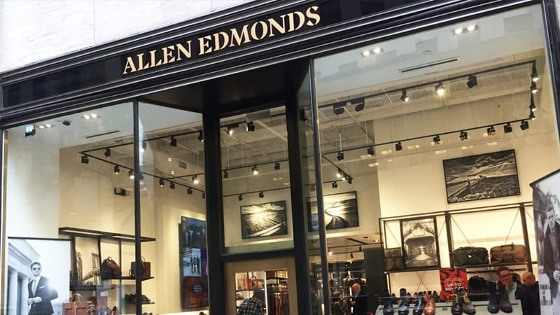New Allen Edmonds store