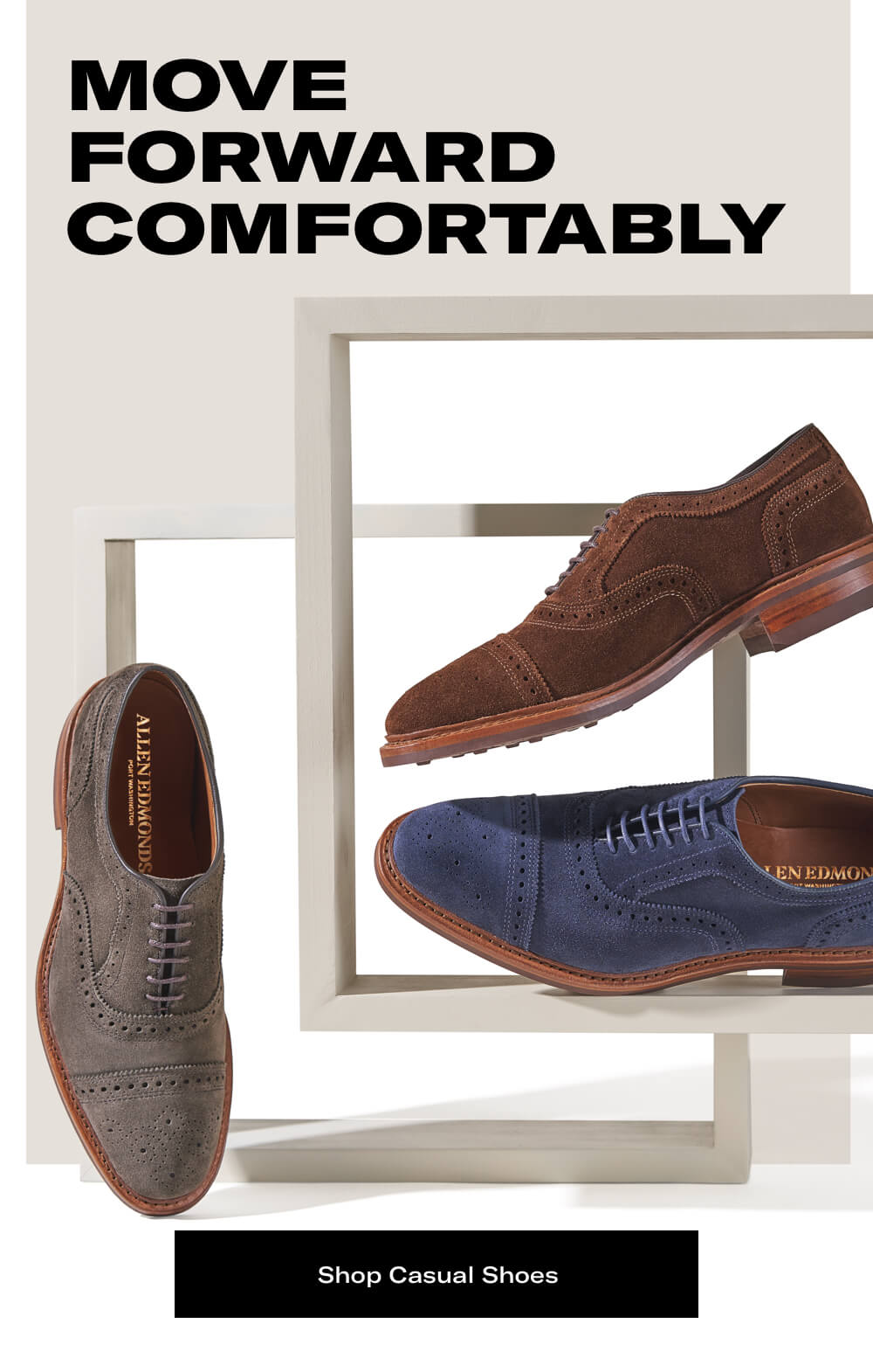 Move forward comfortably - Shop Casual Shoes