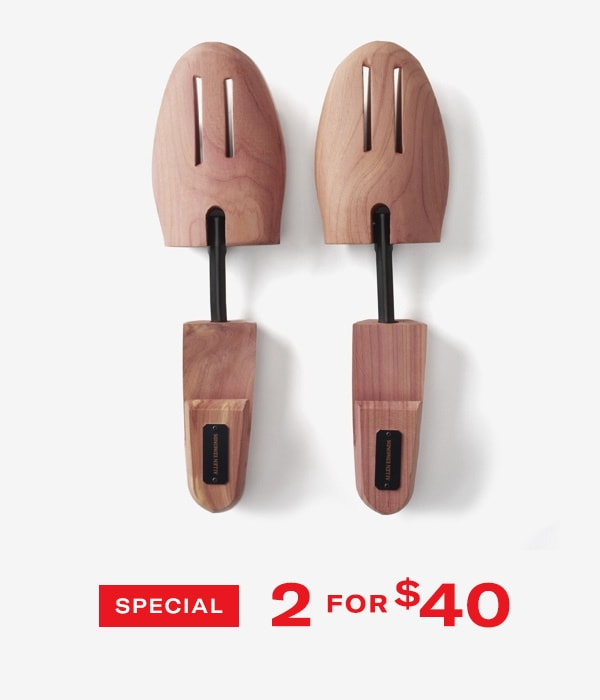 Shoe Trees 2 for $40