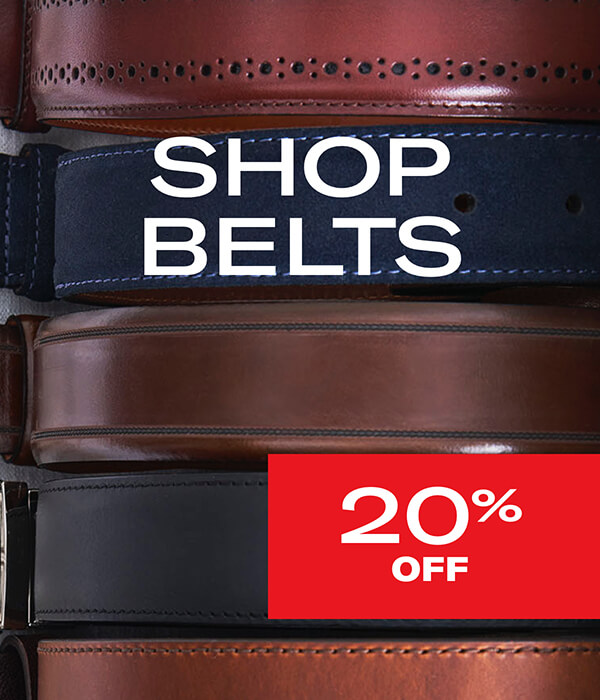 Shop Belts 20% off