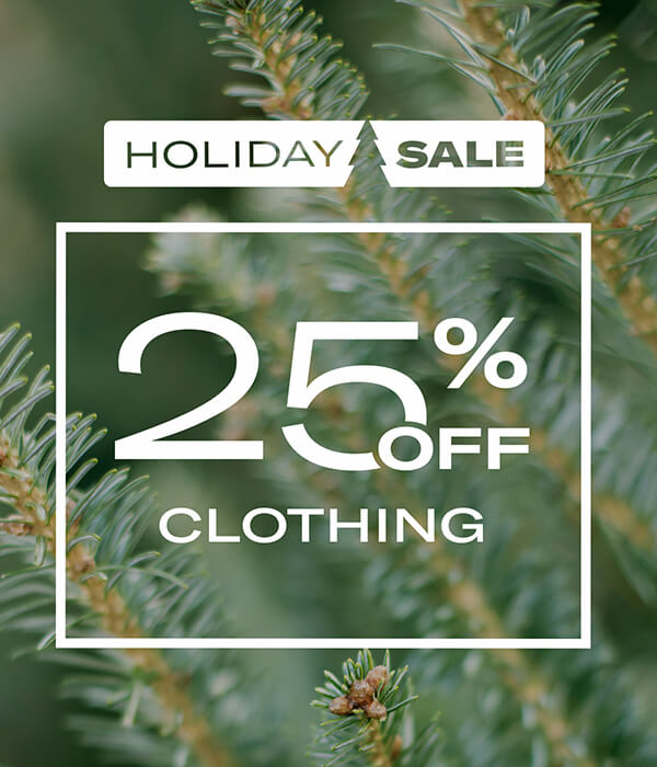 25% Off Clothing