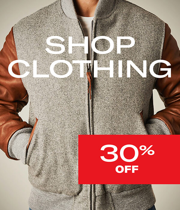 Shop Clothing 30% off