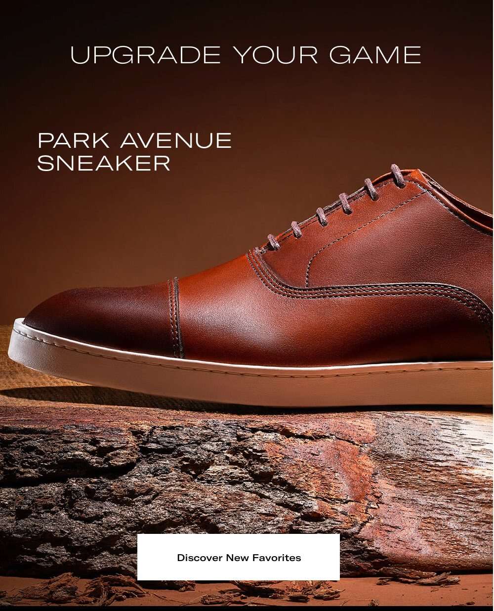 Upgrade your game, Park Avenue sneaker. Discover new favorites.