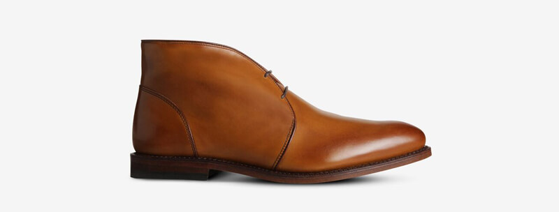 Calfskin shoes by Allen Edmonds