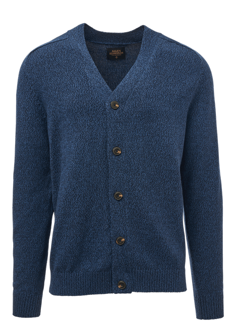 Allen Edmonds - Navy Blue Men's Cardigan Sweater
