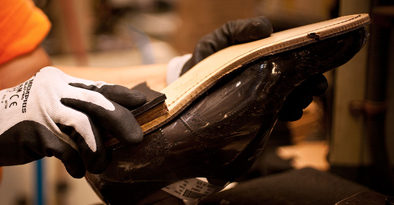 leather sole shoe