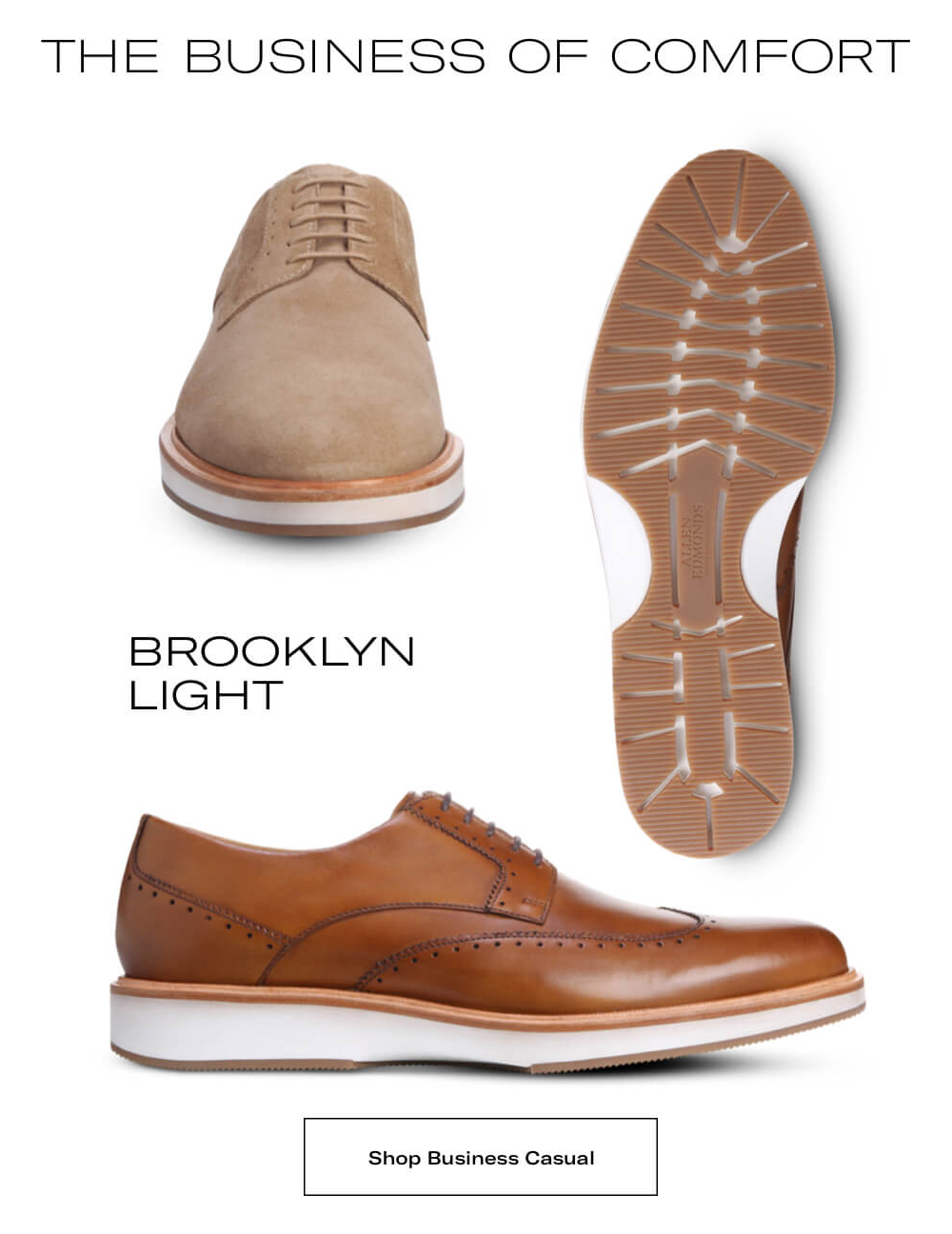 the Business of comfort, Brooklyn Light. Shop Business Casual