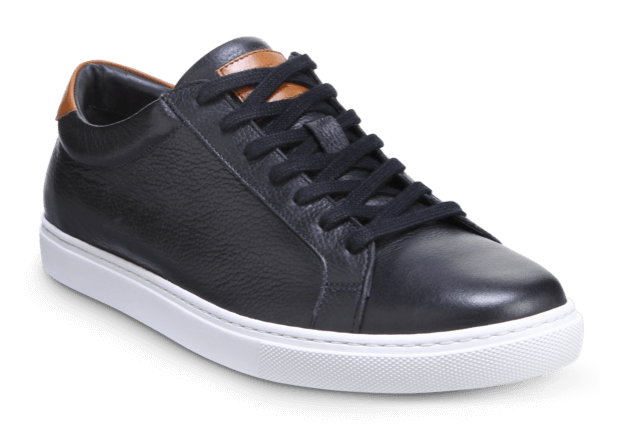 Allen Edmonds- Courtside Black Leather Dress Sneaker